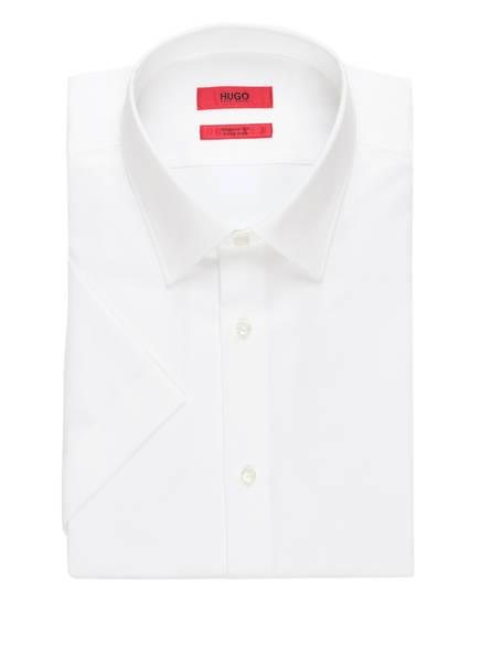 HUGO Halbarm-Hemd VENZINO Regular Fit, Farbe: WEISS (Bild 1)
