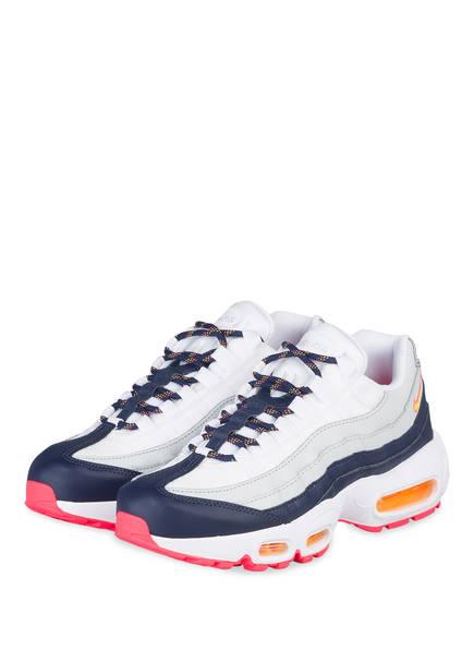 Nike Sneaker AIR MAX 95, Farbe: WEISS/ DUNKELBLAU/ PINK (Bild 1)