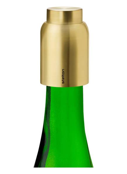 stelton Flaschenverschluss COLLAR, Farbe: GOLD (Bild 1)