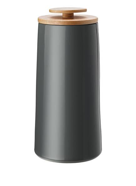 stelton Aufbewahrungsdose EMMA, Farbe: DUNKELGRAU (Bild 1)