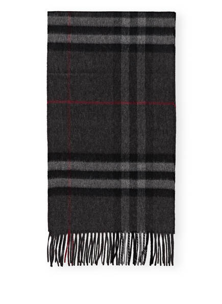 BURBERRY Cashmere-Schal, Farbe: GIANT CHECK/ CHARCOAL (Bild 1)