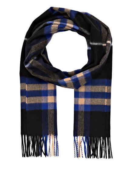 BURBERRY Cashmere-Schal , Farbe: GIANT CHECK/ BRIGHT COBALT (Bild 1)