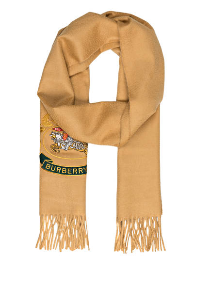 BURBERRY Cashmere-Schal, Farbe: ANTIQUE YELLOW (Bild 1)