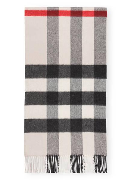 BURBERRY Cashmere-Schal, Farbe: HALF MEGA CHECK/ STONE (Bild 1)