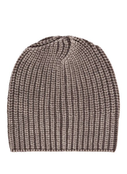 IRIS von ARNIM Cashmere-Mütze AMELIA, Farbe: BEIGE (Bild 1)
