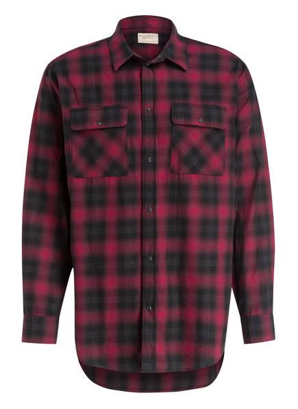 Nudie Jeans Hemd GABRIEL Comfort Fit , Farbe: DUNKELROT/ SCHWARZ KARIERT (Bild 1)