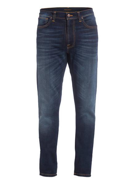 Nudie Jeans Jeans LEAN DEAN Slim Tapered Fit , Farbe: DARK DEEP WORN (Bild 1)