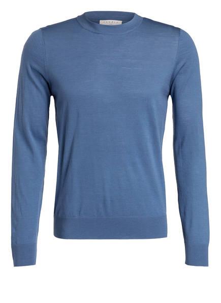 sandro Pullover, Farbe: BLAU (Bild 1)