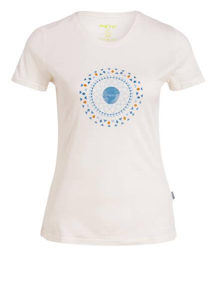 me°ru' Funktionsshirt ENKÖPING mit Merinowolle-Anteil, Farbe: ECRU (Bild 1)