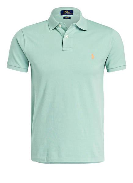 POLO RALPH LAUREN Piqué-Poloshirt Slim Fit, Farbe: MINT (Bild 1)