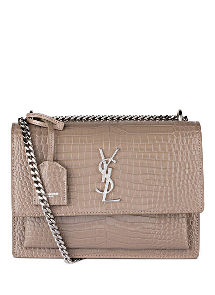 SAINT LAURENT Umhängetasche SUNSET MEDIUM, Farbe: DUSTY GREY (Bild 1)