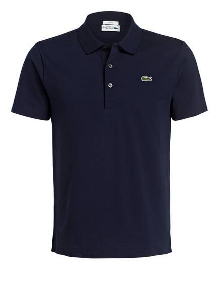 LACOSTE Piqué-Poloshirt Slim Fit, Farbe: DUNKELBLAU (Bild 1)