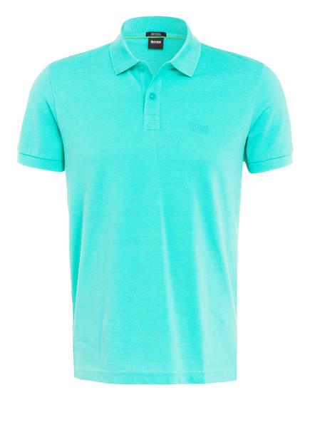 BOSS Piqué-Poloshirt PIRO Regular Fit, Farbe: GRÜN (Bild 1)