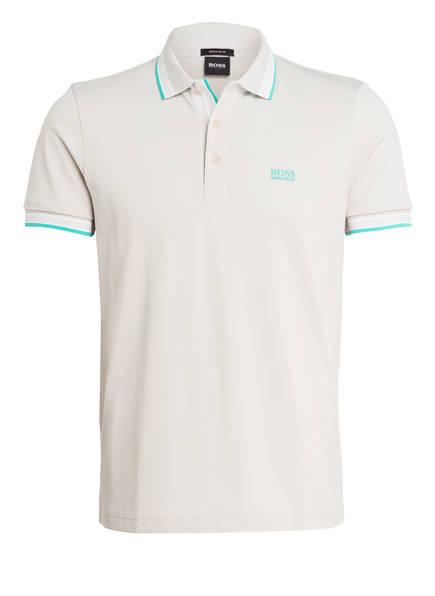 BOSS Piqué-Poloshirt PADDY Regular Fit, Farbe: HELLBEIGE (Bild 1)