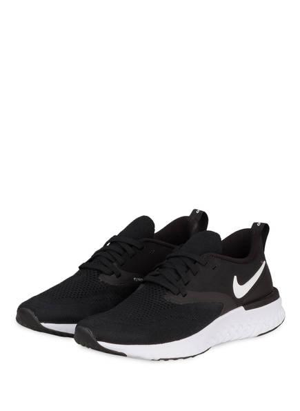 Nike Laufschuhe ODYSSEY REACT FLYKNIT 2, Farbe: SCHWARZ/ WEISS (Bild 1)