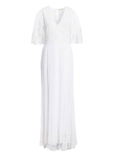 frock & frill Kleid mit Perlenbesatz, Farbe: WEISS (Bild 1)