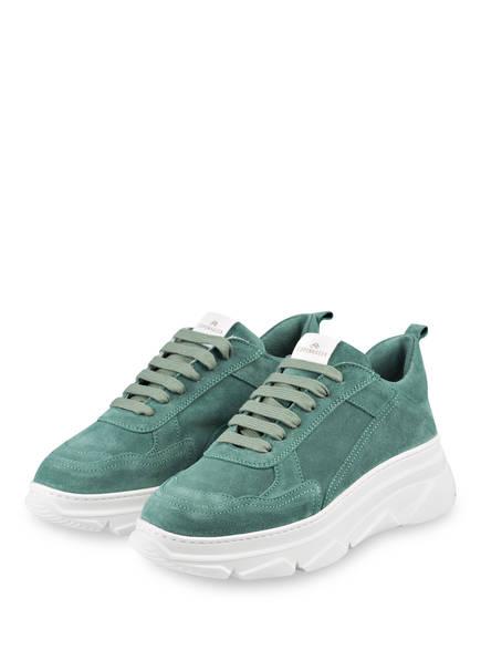 COPENHAGEN Plateau-Sneaker, Farbe: GRÜN (Bild 1)