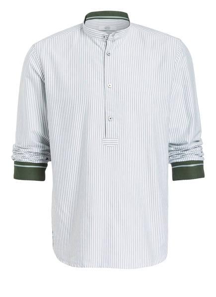 gössl Trachtenhemd PFOAD, Farbe: WEISS/ GRÜN GESTREIFT (Bild 1)