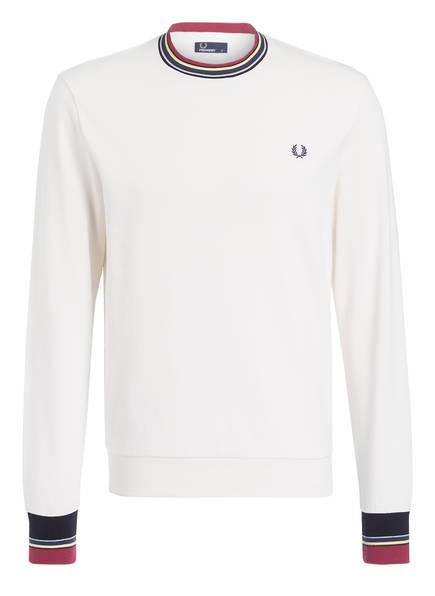 FRED PERRY Sweatshirt, Farbe: CREME (Bild 1)