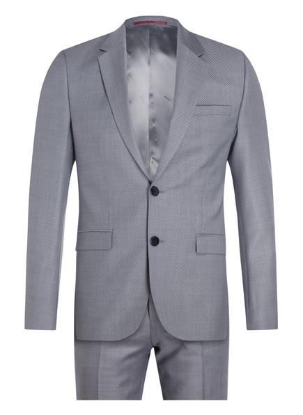 HUGO Anzug ASTIAN/HETS184 Extra Slim Fit, Farbe: BLAUGRAU (Bild 1)