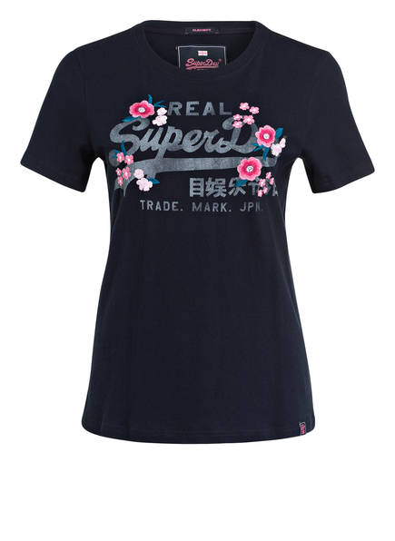 Superdry T-Shirt , Farbe: DUNKELBLAU (Bild 1)