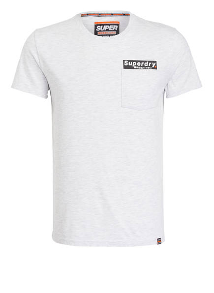 Superdry T-Shirt, Farbe: HELLGRAU MELIERT (Bild 1)