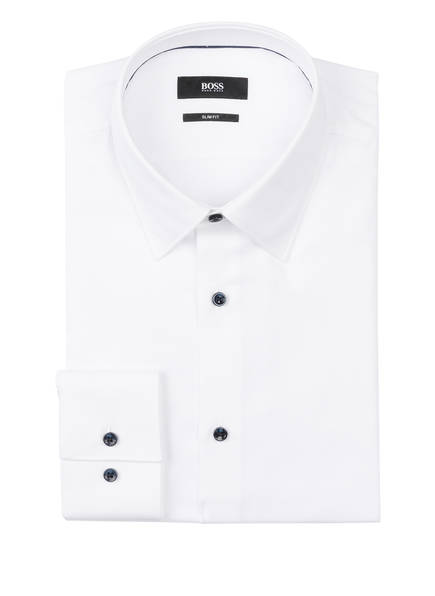 BOSS Hemd JANO Slim Fit, Farbe: WEISS (Bild 1)