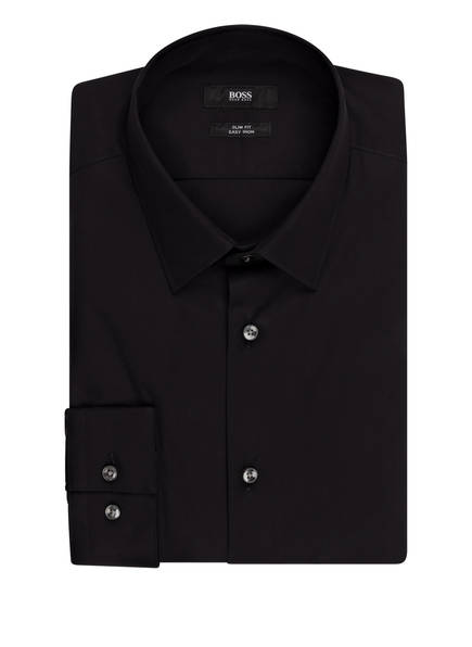 BOSS Hemd ISKO Slim Fit, Farbe: SCHWARZ (Bild 1)