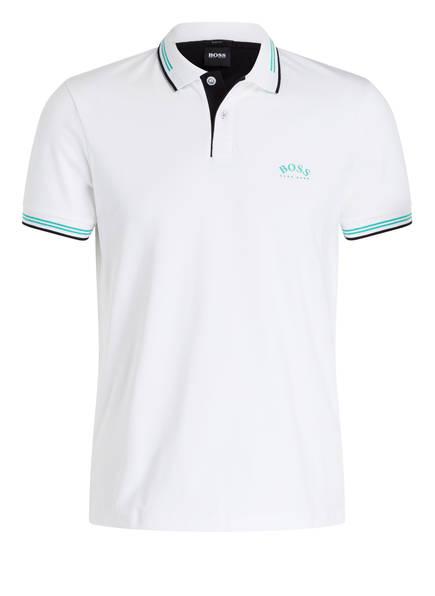 BOSS Piqué-Poloshirt PAUL CURVED Slim Fit , Farbe: WEISS (Bild 1)