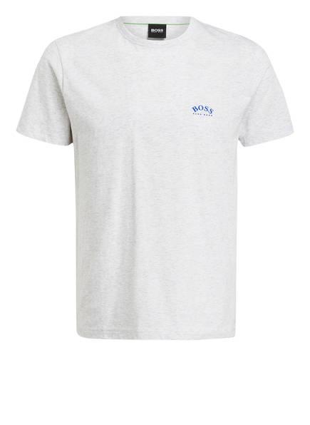 BOSS T-Shirt CURVED, Farbe: HELLGRAU MELIERT (Bild 1)