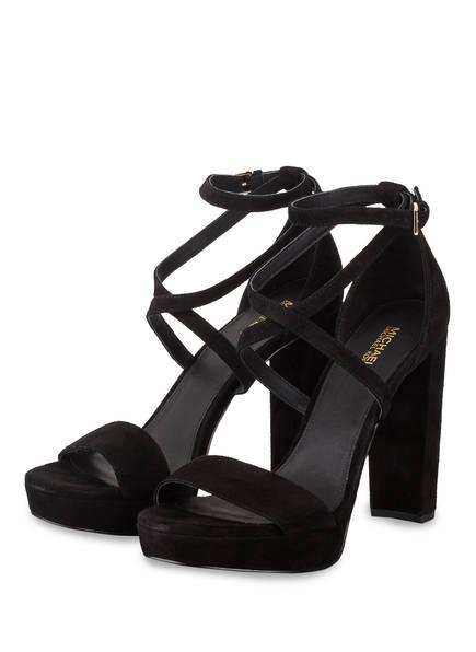 MICHAEL KORS Sandaletten CHARLIZE, Farbe: SCHWARZ (Bild 1)