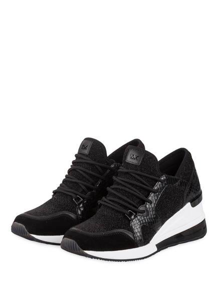 MICHAEL KORS Sneaker LIV TRAINER, Farbe: SCHWARZ (Bild 1)
