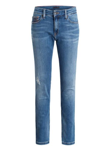 TOMMY HILFIGER Jeans STEVE, Farbe: 911 AUTHENTIC MID BLUE DESTRUCTED STR (Bild 1)