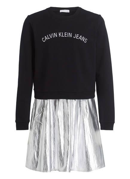Calvin Klein Kleid , Farbe: SCHWARZ/ SILBER (Bild 1)