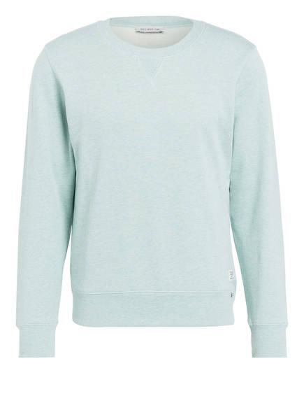 TIGER of Sweden Sweatshirt LEXXUS, Farbe: HELLGRÜN MELIERT (Bild 1)