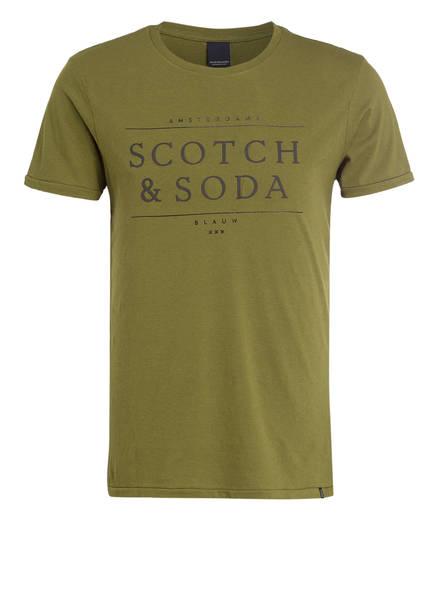 SCOTCH & SODA T-Shirt, Farbe: OLIV (Bild 1)