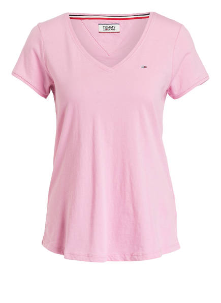 TOMMY JEANS T-Shirt, Farbe: ROSA (Bild 1)