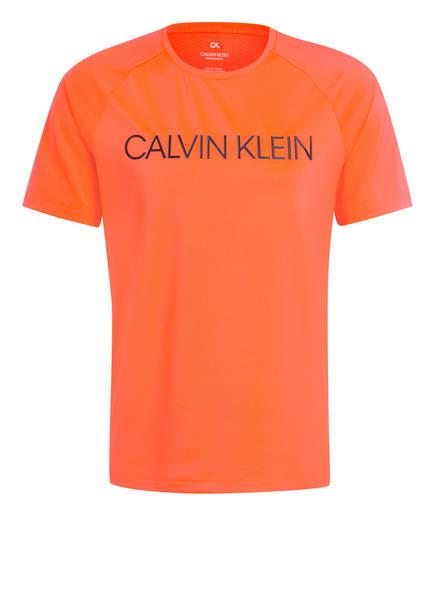 Calvin Klein Performance T-Shirt , Farbe: NEONORANGE (Bild 1)
