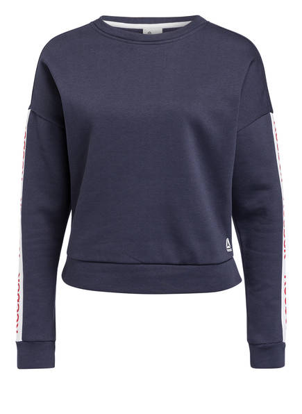 Reebok Sweatshirt ESSENTIALS LINEAR LOGO , Farbe: NAVY (Bild 1)
