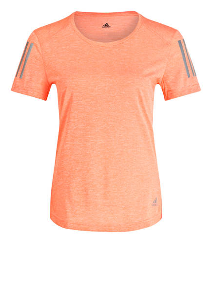 adidas T-Shirt OWN THE RUN, Farbe: KORALLE (Bild 1)