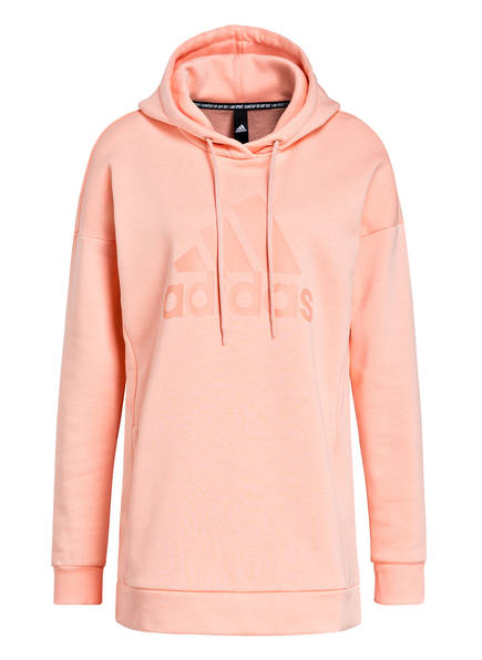 adidas Hoodie MUST HAVES BADGE OF SPORT, Farbe: APRICOT (Bild 1)
