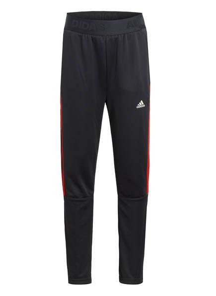 adidas TrainingshoseTIRO, Farbe: GRAU/ ROT (Bild 1)