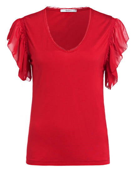 Pepe Jeans T-Shirt AUTEUIL , Farbe: ROT (Bild 1)