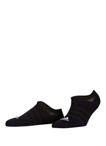 adidas 3er-Pack Sneakersocken LIGHT NOSH, Farbe: BLACK/BLACK/BLACK	 (Bild 1)