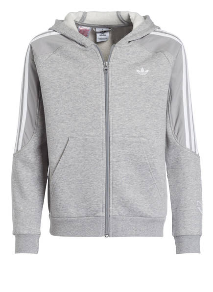 Neu Adidas Originals Weiß Schwarz Sweatjacke Herren Auf Verkauf
