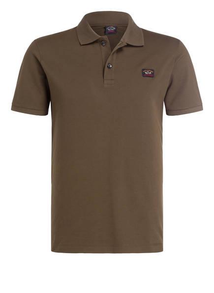 PAUL & SHARK Piqué-Poloshirt, Farbe: OLIV (Bild 1)