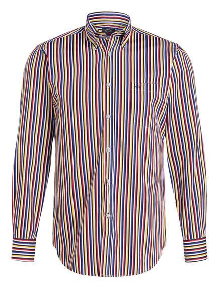 PAUL & SHARK Hemd Regular Fit , Farbe: BLAU/ GELB/ ROT GESTREIFT (Bild 1)