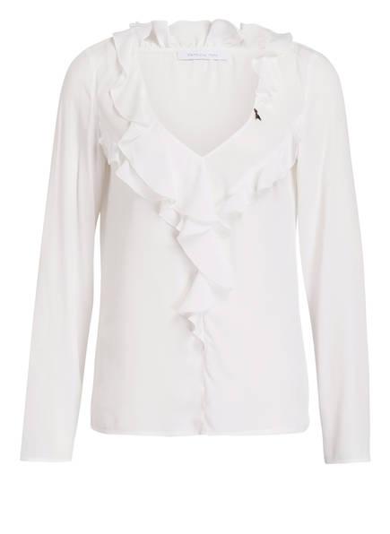 PATRIZIA PEPE Blusenshirt , Farbe: WEISS (Bild 1)