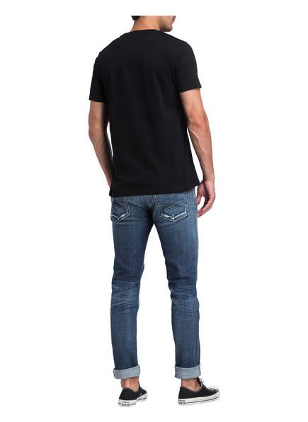 Destroyed-Jeans ANBASS Slim Fit von REPLAY   009 MEDIUM BLUE