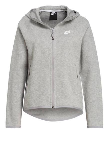 Nike Sweatjacke, Farbe: HELLGRAU MELIERT (Bild 1)